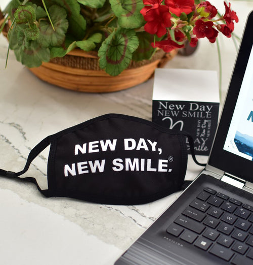 NEW DAY, NEW SMILE.® FACE MASKS - LIMITED EDITION (while supplies last)