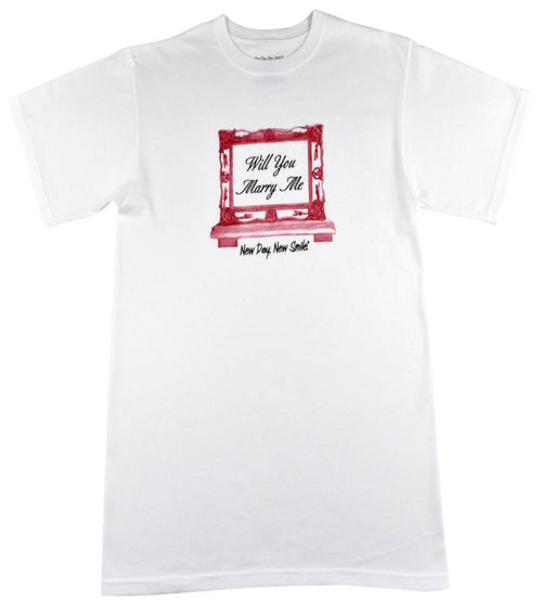 New Day New Smile Men's Will You Marry Me Tee | available at NewDayNewSmile.com