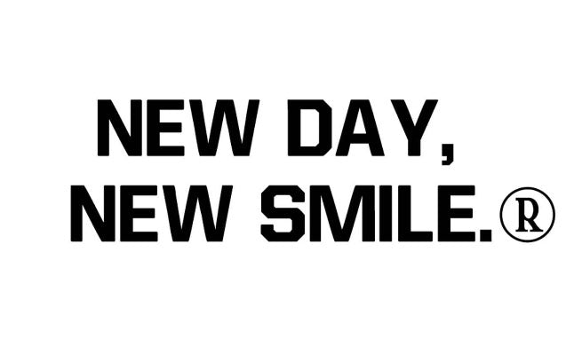 New Day New Smile Women's WHITE Tee available at NewDayNewSmile.com