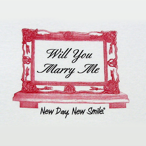 Men's Will You Marry Me Tee | available at NewDayNewSmile.com