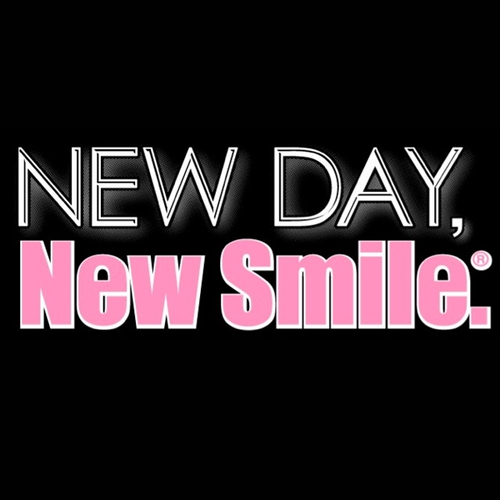 New Day New Smile Women's Black Tee available at NewDayNewSmile.com