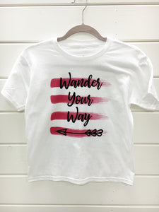 Wander Your Way Youth Tshirt
