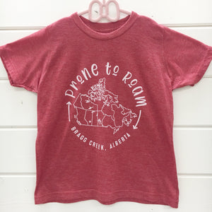 Prone to Roam tshirt
