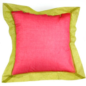 Lisa Corti pillow-case organza multicolor  Org45