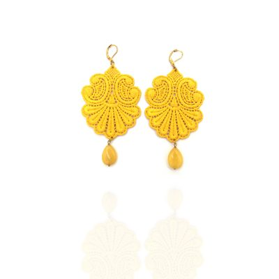 Earrings Lace Conchiglia Tita