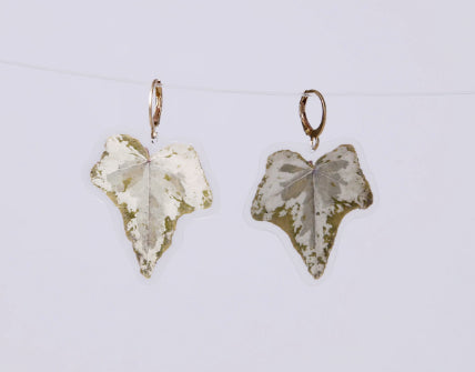 GLORIA EARRINGS, Small Leave