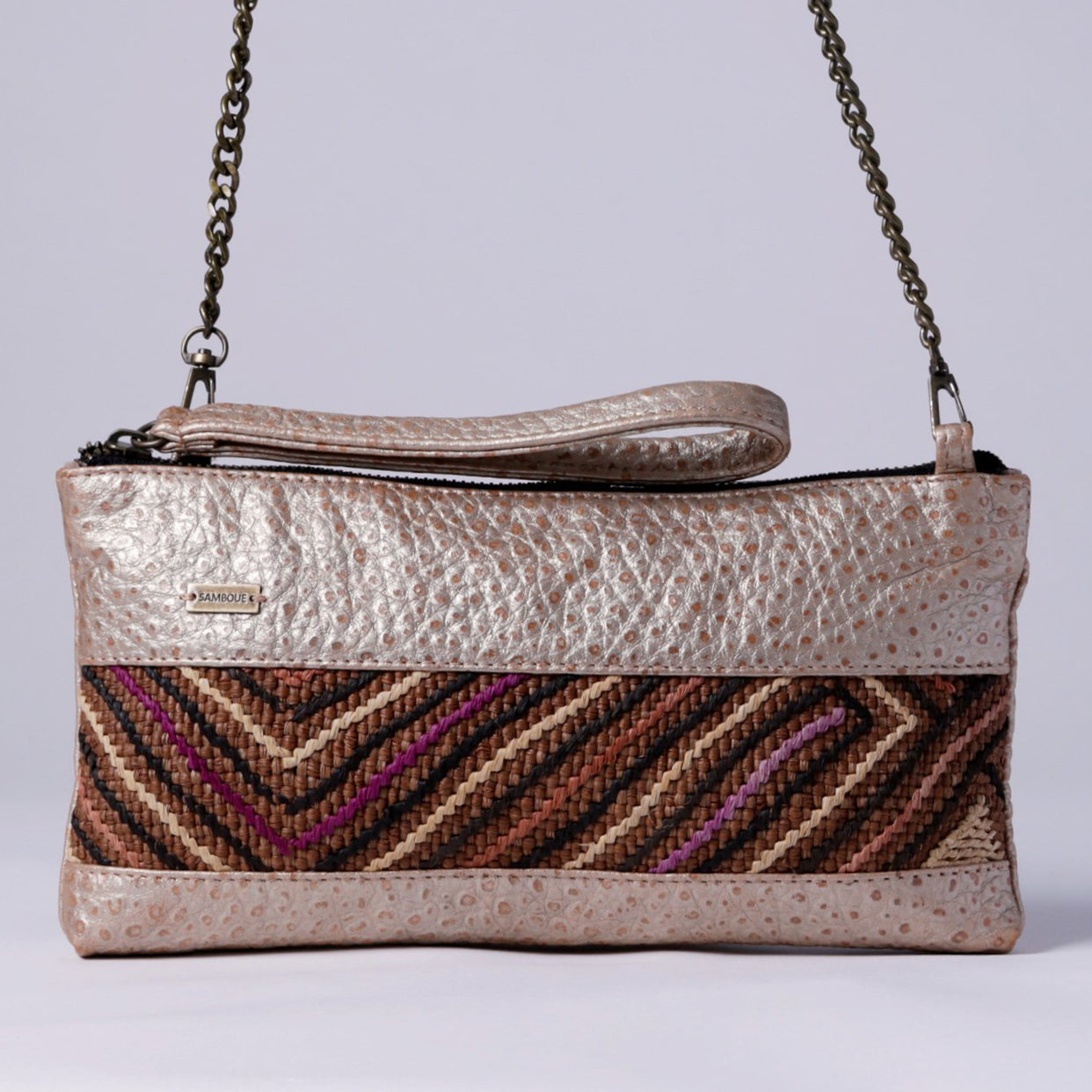 SAMBOUE CROSSBODY, GOLD
