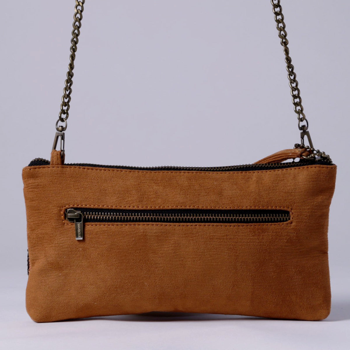 SAMBOUE CROSSBODY, BROWN