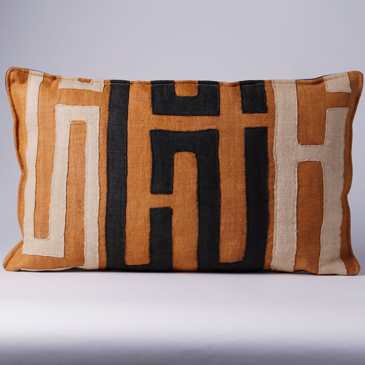 SAMBOUE PILLOW, ORANGE, LARGE