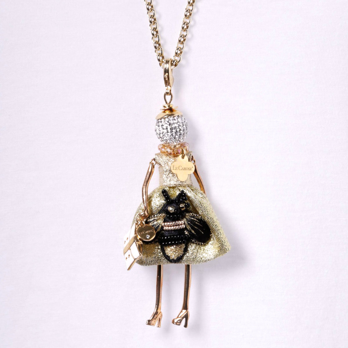 LE CAROSE NECKLACE, BEE