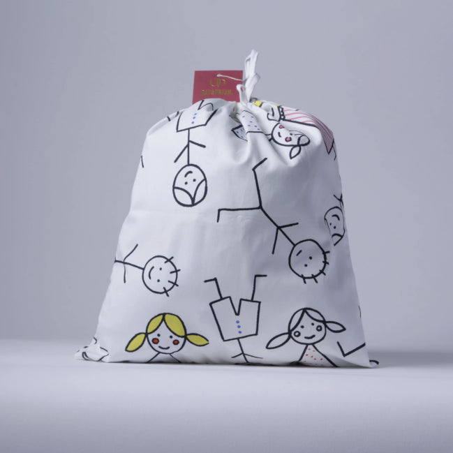 Fabric sack bag by Toti'