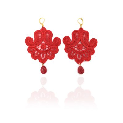 Lace Earrings Marocco
