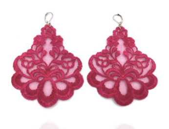 Earrings Lace OLEANDRO Tita