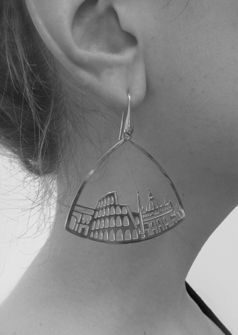 Earrings, Rome by TITÀ