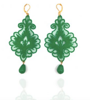 Earrings Lace Giglio Tita