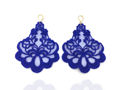 Earrings lace Oleandro little special edition Perrots Tita