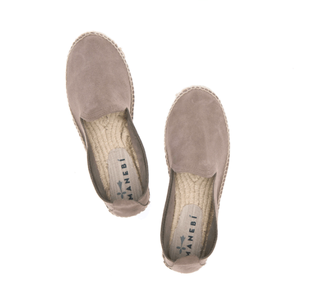Shoes Espadrilles in suede Brown