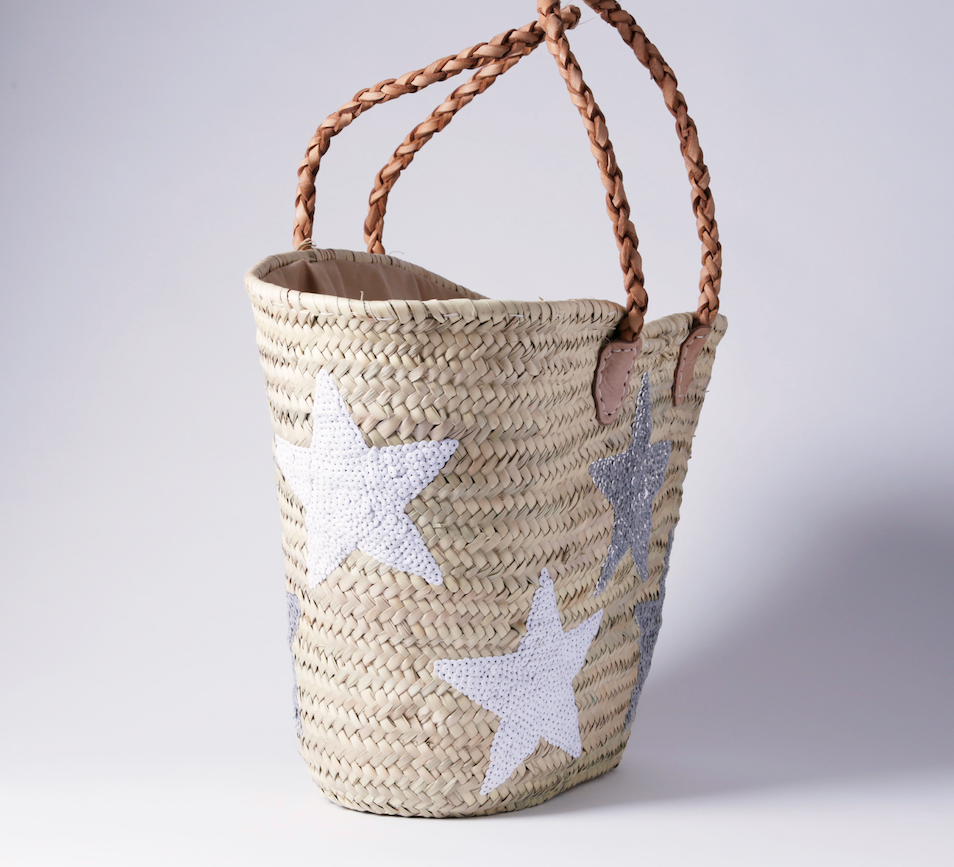 "Straw bag ""STAR"""