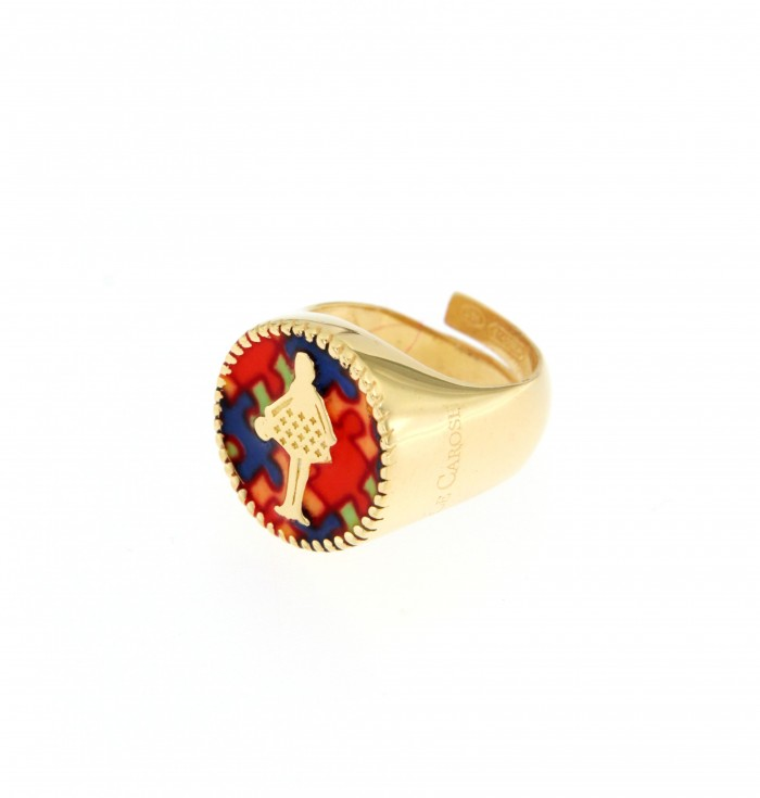 Le Carose Alice wonderland ring