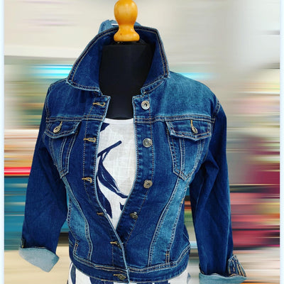 Denim jacket plaine