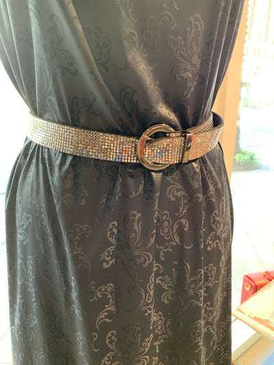 belt Maury Milano with sparkling