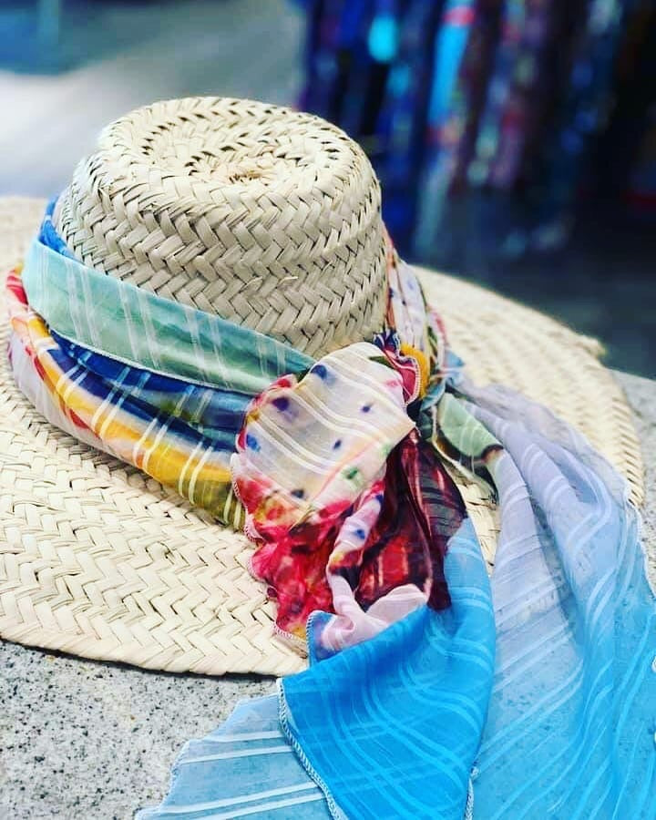 Straw hat for your summer time