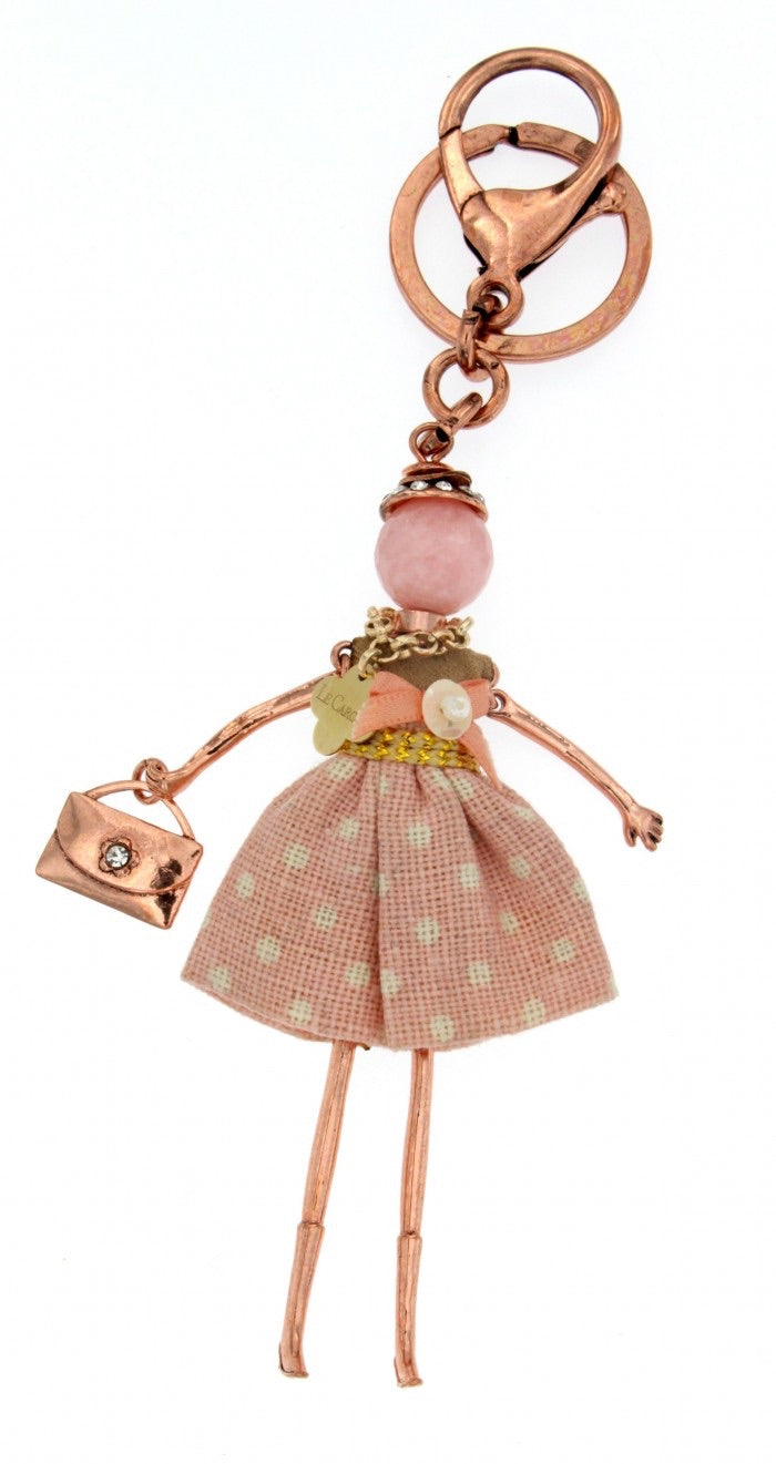 Le Carose  key chain doll pendant