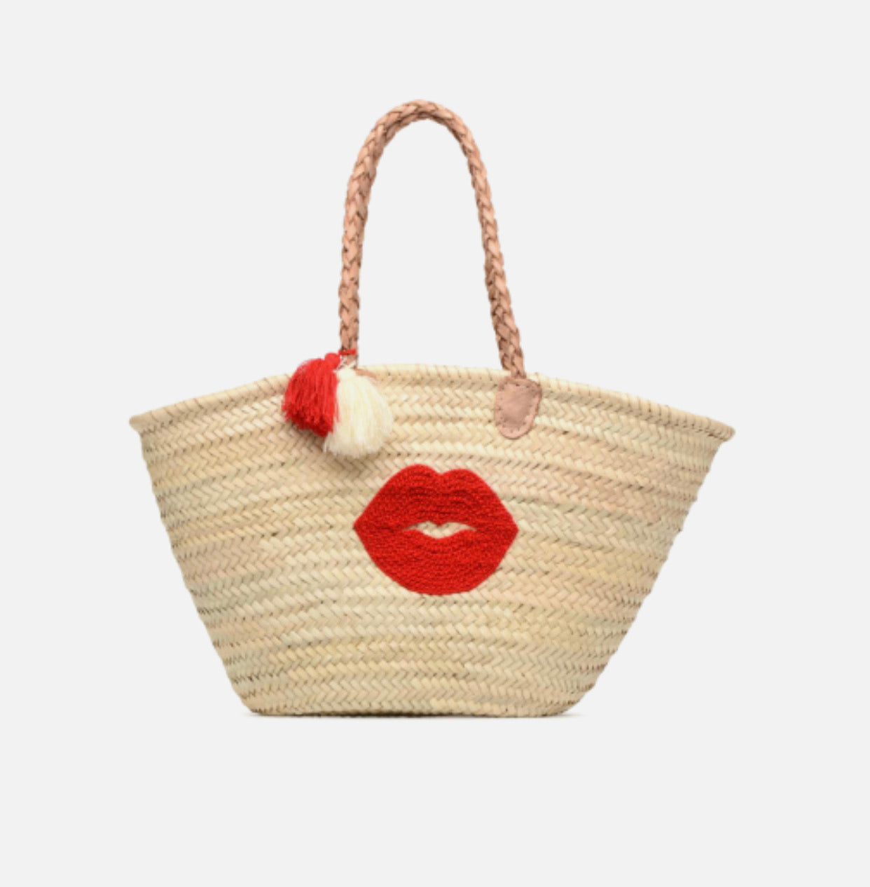 Bag little straw basket