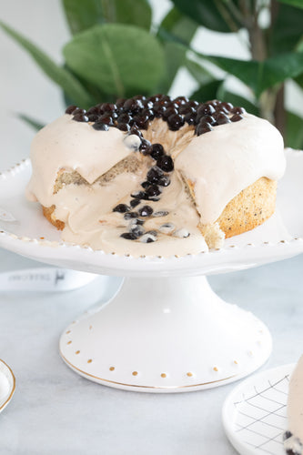 Brown Sugar Bubble Tea Cake