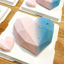 Pink and Blue Mousse