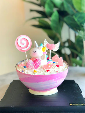 Planet Cake with Unicorn