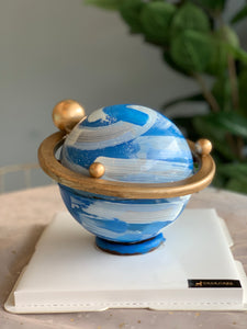 Planet Cake With Decoration Inside