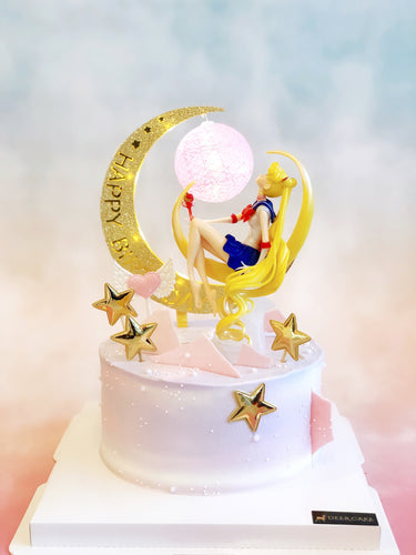 Moon Sailor Moon Cake