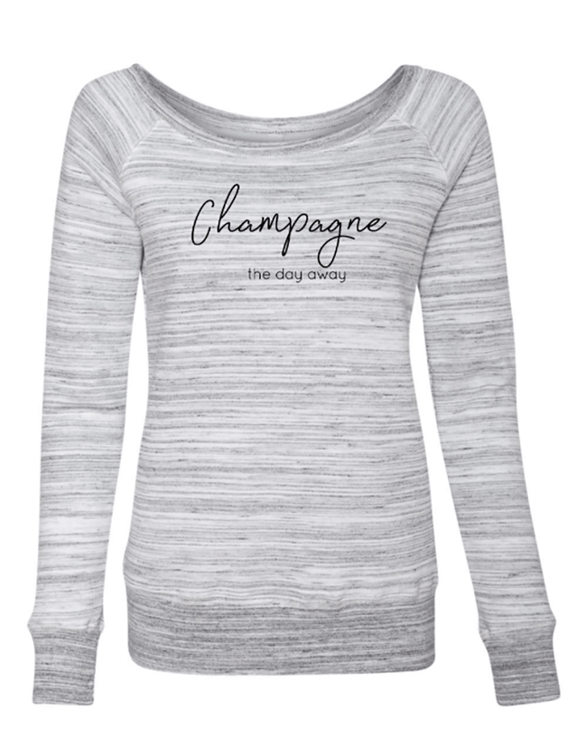 Champagne the Day Away Sweater