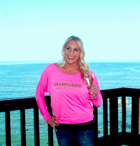 We Drink Champagne (When We're Thirsty) Long Sleeve