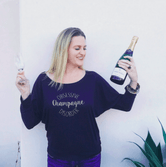 Obsessive Champagne Disorder Long Sleeve