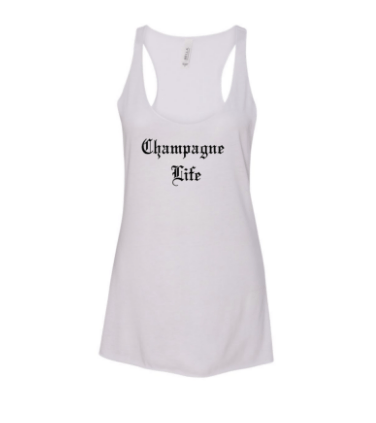 Champagne Life Tank