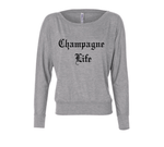 Champagne Life Long Sleeve