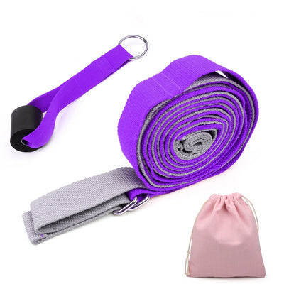 Yoga Fitness Adjustable Stretch Strap