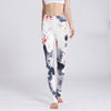 Floral Print Super Flexible Yoga Pants