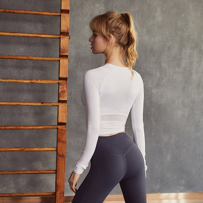 Quick-Dry Yoga Top