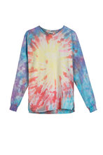 ANIME GIRL TIE DYE LONG SLEEVE