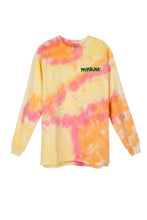 CHAOS KID PINK TIE DYE LONG SLEEVE