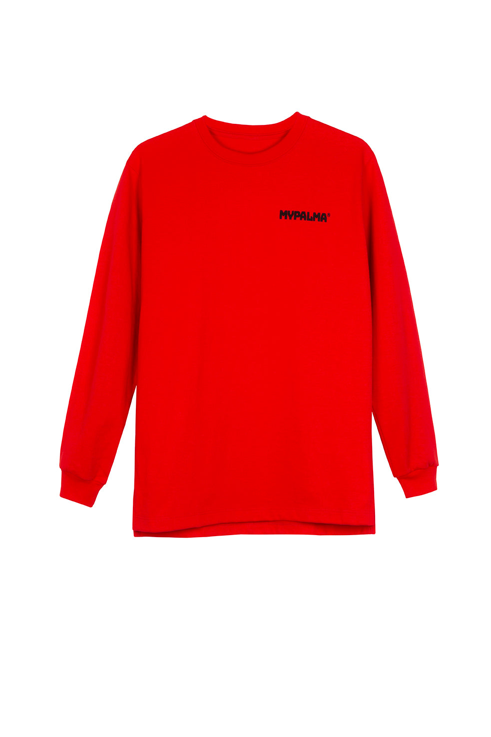 LOGO RED LONG SLEEVE