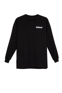 LOGO BLACK LONG SLEEVE