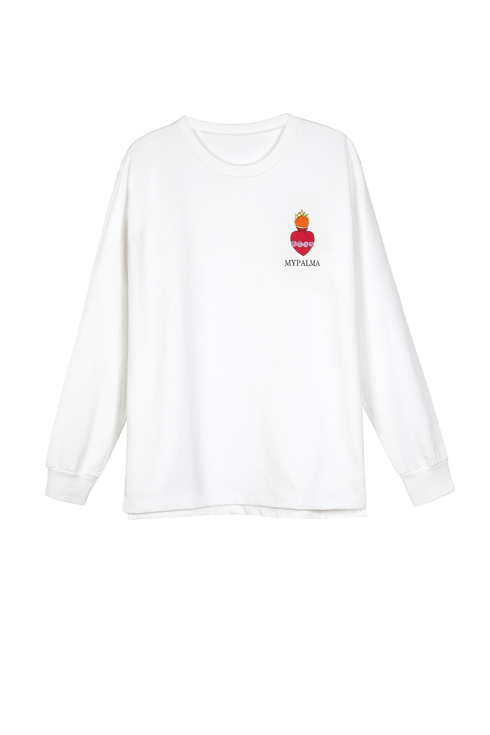 FLAMING HEART LONG SLEEVE