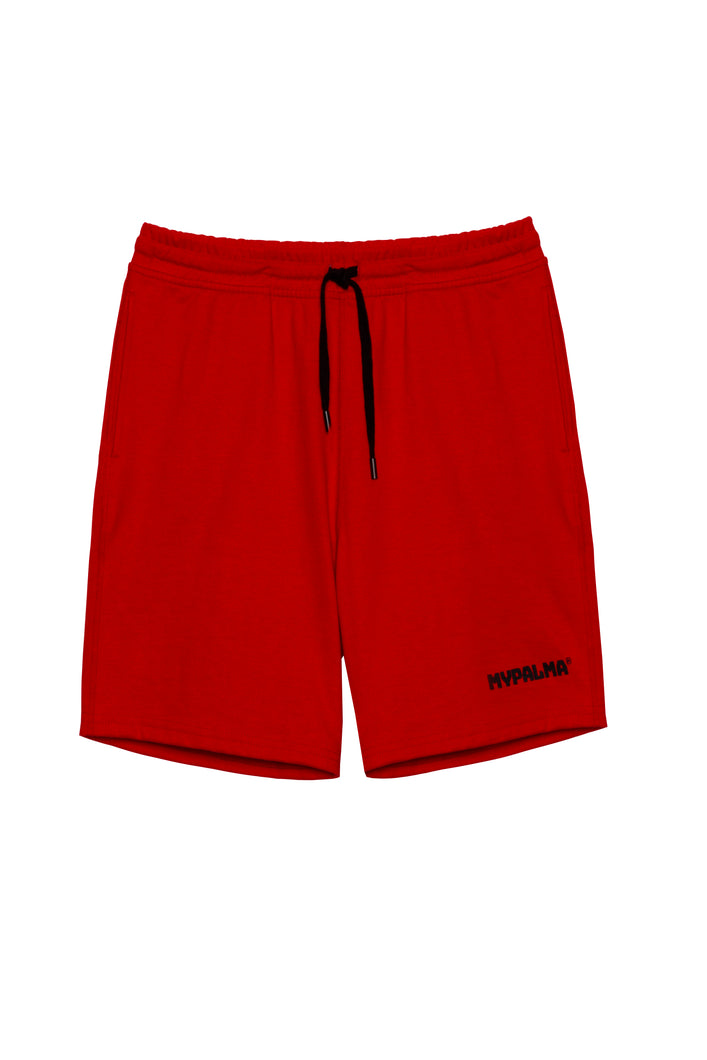 THREE GRACES RED SHORT