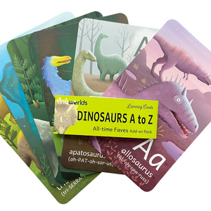 Dinosaurs A to Z cards: All-time Faves Add-on Pack