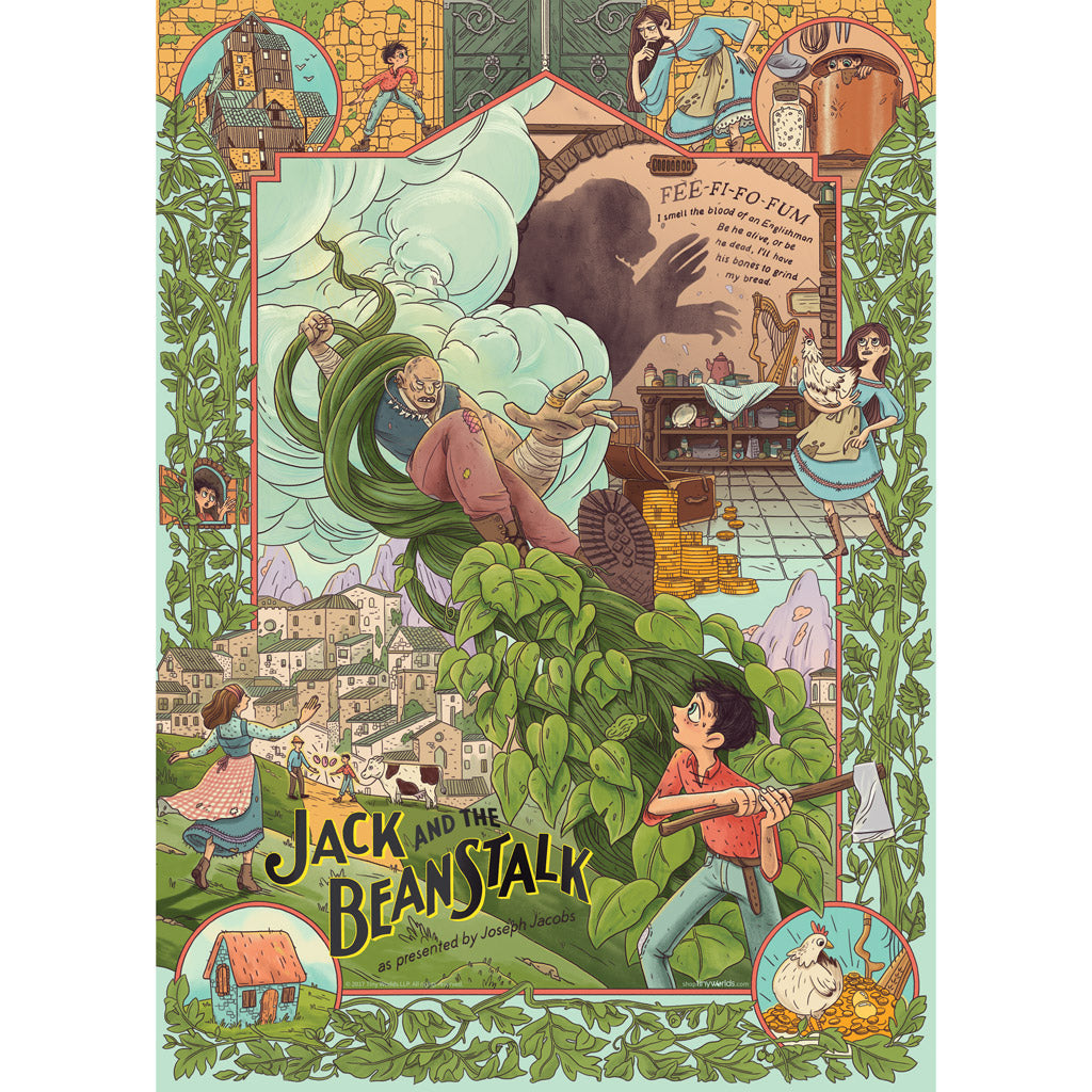 Jack and the Beanstalk Story Poster