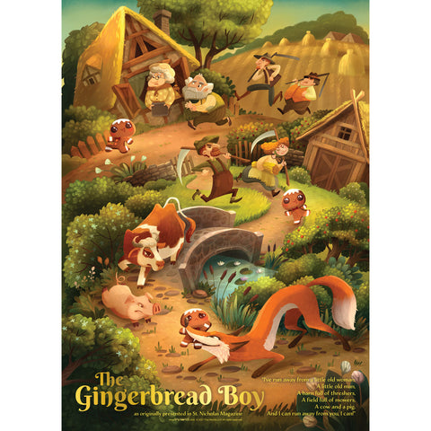 The Gingerbread Boy Story Poster